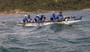 Cidade sedia etapa do Campeonato Brasileiro de Canoa Havaiana