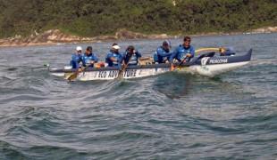 Peruíbe sedia etapa do Campeonato Brasileiro de Canoa Havaiana