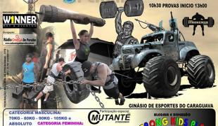 Primeira etapa do Campeonato Paulista de Strongman acontece em Peruíbe, neste domingo (29)