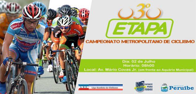 Peruíbe recebe no domingo, dia 2 de julho, mais uma prova da Liga Santista de Ciclismo.