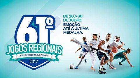 atletas de Peruíbe participarão dos 61º Jogos Regionais
