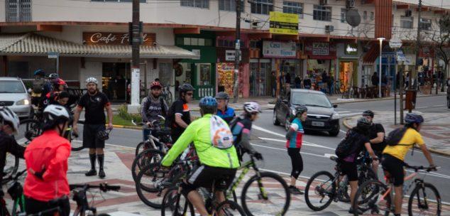 Grupo de Ciclistas pedala de Praia Grande a Peruíbe neste sábado